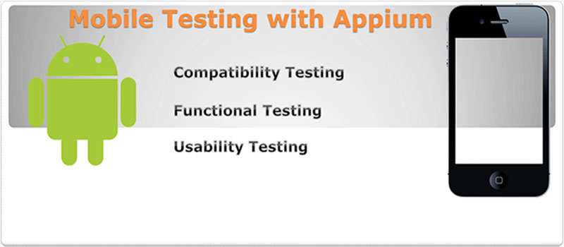 Mobile Apps Testing Training in Noida, Appium Mobile Testing