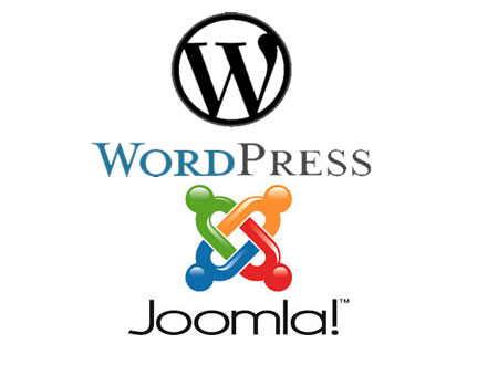 Wordpress, Joomla